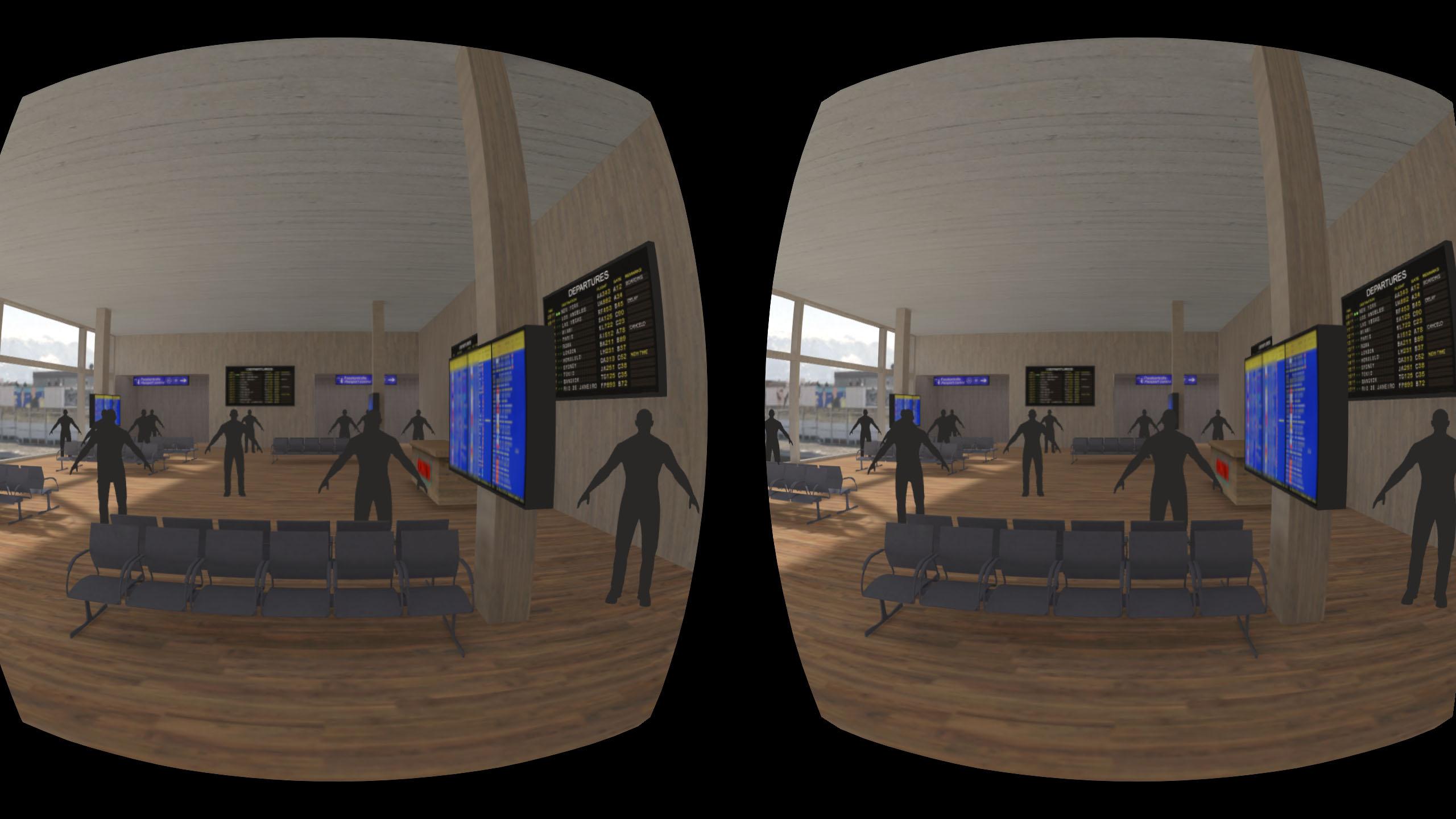 Holodeck 4.0 Airport Gear VR Screenshot