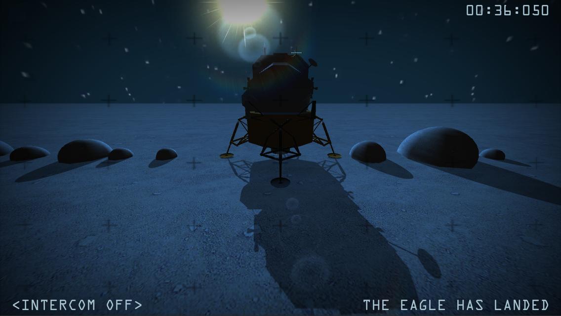Moon Race Ingame Screenshot