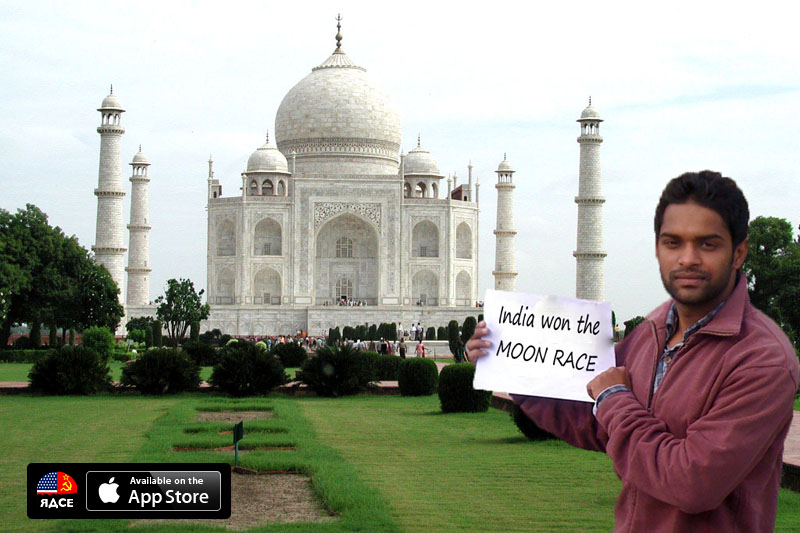 India won the Moon Race