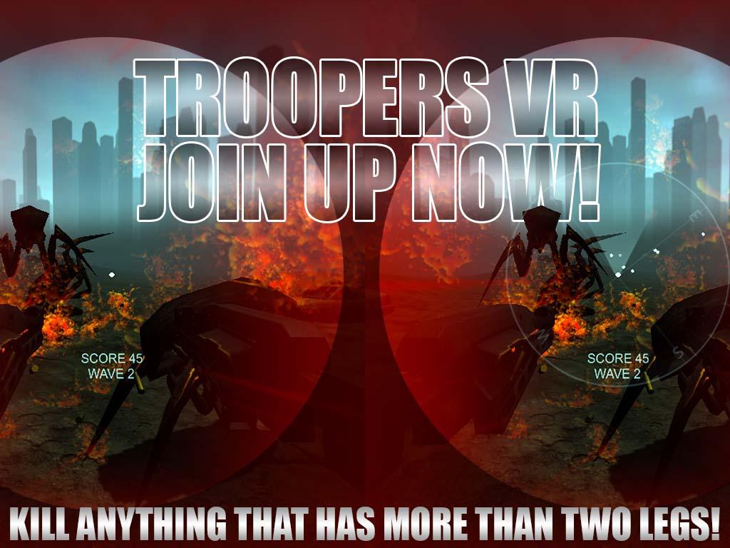 Troopers VR Teaser